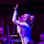 Silvia CASARIN RIZZOLO, chef d'orchestre. Concert Noel de l'Orchestre philharmonique de Strasbourg, Strasbourg, 22 décembre 2016